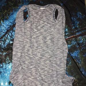 LuLaRoe long vest cardigan